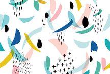 2018 Mood / Inspiration, color, texture, nature, modern art