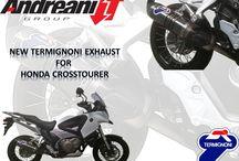 Honda Crosstourer / New Termignoni exhaust for Honda Cross Tourer