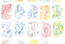 Letters en tekeningen