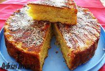 bolos com farinha trigo