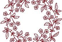 wreath pattern