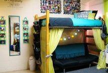 Appalachian State Dorm Room! / College!