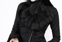 Gothic. punk, steampunk and other alternative trends