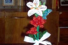 Gyöngyvirágaim / Gyöngyből készített virágaim