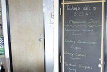 Osztályterem tiniknek - Classroom for teens / Inspirációnak osztályterem felújítás, ötletek - felsősöknek, matek szakon :)