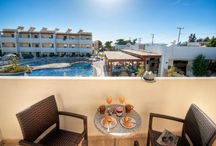 Matina Pefkos Aparthotel / Matina Pefkos Aparthotel is the ideal choice for a relaxing self-catering family holiday, situated in the heart of the resort, only 50 metres from the beautiful, sandy Pefkos beach.