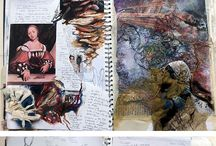 scrap books/art books