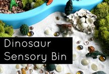 KIDS :: Sensory Bins / by Stacey Bellotti