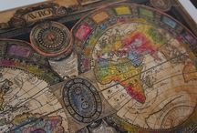 Old World Maps and Astrological Stars