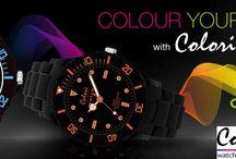 Ανακαλύψτε τα ΝΕΑ χρωματιστά ρολόγια COLORI μόνο στο OROLOI.GR!