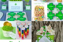 St. Patrick's Day Ideas / St. Patrick's Day party ideas -- cakes, decorations, party foods and favors. See more party ideas at BloomDesignsOnline.com / by Bloom Designs Online
