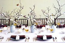 Contemporary dining styles / Host the perfect modern Christmas dinner party with these beautiful dining styles and ideas