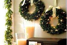 Christmas trees & wreaths / by Kimberly Chapman