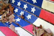 Americana / The Farmyard Darlings love Ol' Glory and what it represents and all items relating to America.
