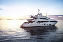 Sunseeker 40m Yacht / Seductive. Inspirational. Versatile. The tri-deck Sunseeker 40 Metre Yacht epitomizes everything that is Sunseeker. Accommodating up to twelve guests in sublime surroundings, the sheer scale and layout of this immense yacht is awe-inspiring.