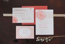 Weddings | LBC Design Co. / Wedding Invitations design by Carina Herman of LBC Design Co.