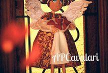 Anja de Natal / Christmas Angel/ angel doll