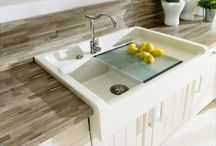 Composite designer kitchen sinks / A selection of composite designer kitchen sinks from brands such as Schock and Smeg. All made in Italy or Germany. Add colour and style to your kitchen!