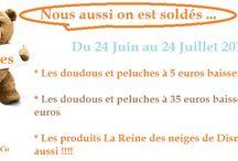 Promotions , Soldes , Bons plans Doudous et peluches / bons plans , promotions, soldes, code promo.... sur www.doudoutheque-co.fr
