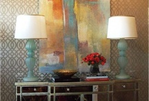 Entry / Wow them from the moment they enter your home! Entry way and foyer design and decor ideas and inspiration.