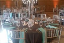 Wedding Reception Linens & Ties