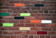 coloured brick