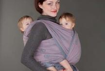 Babywearing twins / Nošení dvojčat / There's a bunch of ways how to wear two kids at the same time.  I like to try new ways and this is my idea box. Exisuje spousta možností, jak nosit dvě děti najednou a tohle je můj zdroj inspirace.  Když uvádím, že je potřeba šátek od velikosti xy, tak tím myslím, že člověk s konfekční velikostí XS-S může použít tak velký šátek. Zhruba platí, že co tři až čtyři konfekční velikosti, to půl metru šátku navíc, tedy o velikost větší šátek..