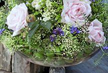 Kukkakimppuja - Flower arrangements