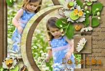 Great pages / Scrapbooking