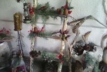 ξυλινες χριστουγεννιατικες κατασκευες