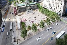 New Vancouver Art Gallery North Plaza redesign