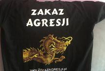 Moje koszulki / Są to koszulki z moją ideą i logiem