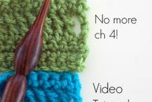 crochet stitch and tutorials