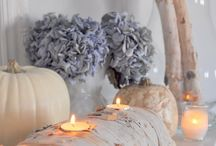 fall inspiration / A collection of home decorating ideas to help inspire you.