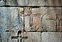 Knights Templar graffite