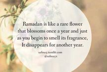 the holy month Ramadhan