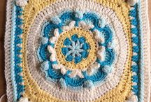 Crochet Squares / Pretty squares to crochet one day :D