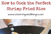 Shrimp Fried Rice / Delicious days