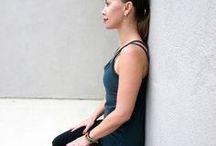 yoga u knees