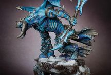 WARHAMMER 40K / Tabletop Wargaming Miniatures, Figures & Painting. / by Gualter