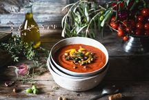 Zuppe minestre e vellutate