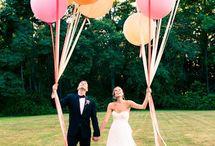 Balões para as fotos