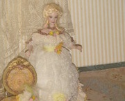 """Porcelain Limited Dolls Collection / My passion are the miniatures, they are part of me. I couldn´t live without them.  I am a miniature collector not a only a seller. I love fashion and history together since I was a child. I was able at the end to get my drem, """"Do a Work of my Passion"""", with the help of somebody very special and dear for me, that every day give an example of live, a great artist but the most modest, generous and fun colleague."""