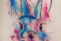 Rabbit tattos