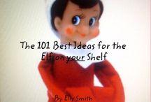 Elfie on the shelfie  / by $andra