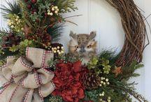 Dørkranser- jul