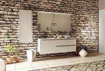 Baños / Atmósfera afable para la funcionalidad y presencia de tu baño.