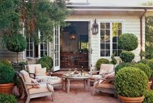 Outdoor kitchen inspiration / by Lisa Leet