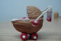 walnut & other nut art
