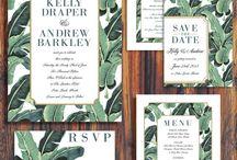 01_Tropical wedding invitation